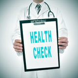 Health check Royalty Free Stock Images