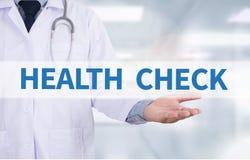 HEALTH CHECK royalty free illustration