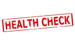 Health check. Rubber stamp with text health check inside,  illustration Stock Photo