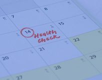 Health check Royalty Free Stock Image