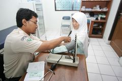Health check up Stock Photo