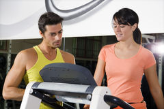 Health club stock photography