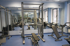 Health Club. Interior health club Stock Photos