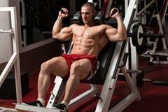 Health Club Leg Press Machine Stock Images
