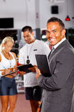 Health club manager Royalty Free Stock Photos