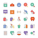 Health Colored Vector Icons 3 Stock Photo