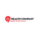 Health company logo Royalty Free Stock Photos