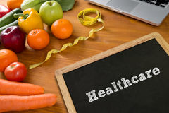 Health Concept: HEALTCARE Royalty Free Stock Images