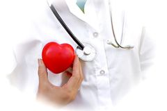 Heart disease concept, responsibility towards health stock photography