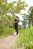 Health conscious people jogging Stock Photography