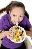Health Conscious young woman Stock Image
