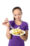 Health Conscious young woman Royalty Free Stock Photo
