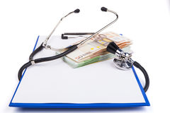 Health Costs Royalty Free Stock Photos