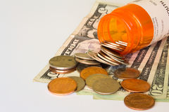 Health costs Royalty Free Stock Photography