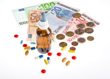 Health costs Stock Photography