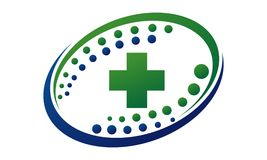 Health Cross Infinity Motion Solution Royalty Free Stock Photo