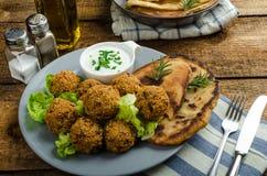Health crunchy falafel Stock Images