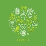 Health design template Stock Photo