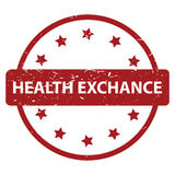 Health exchange royalty free illustration
