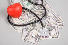Health expenses Stock Image
