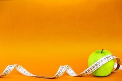 Health and fitness composition Stock Image