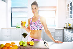 Health, fitness and diet concept Royalty Free Stock Images