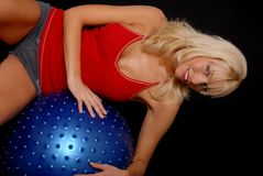Health and Fitness Girl Royalty Free Stock Image