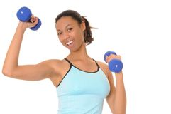 Health and Fitness Girl Royalty Free Stock Photos