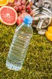 Health and fitness stuff, organic food Stock Photography