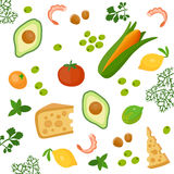 Health food background Stock Images
