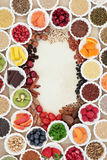 Health Food Border Royalty Free Stock Images
