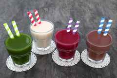 Health Food Drinks Stock Photography