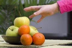 Health food fruits Stock Image