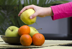 Health food fruits Stock Photo