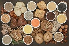 Health Food for a High Fibre Diet stock photos