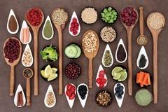 Health Food Sampler Royalty Free Stock Images