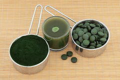Health Food Supplements Royalty Free Stock Photography