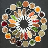Health Food Wheel Stock Photography