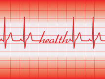 Health graph Royalty Free Stock Images