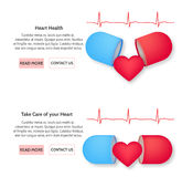 Health Heart concept Stock Images