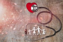 Health. Heart day world pharmacy stethoscope cardiovascular royalty free stock image
