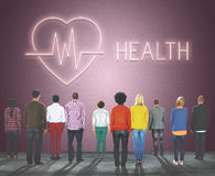 Health Heartbeat Icon Symbol Concept Stock Images