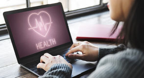 Health Heartbeat Icon Symbol Concept Stock Photography