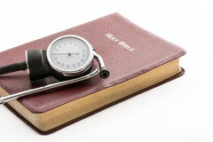 Health and the Holy Bible Royalty Free Stock Photography