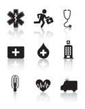 Health icon royalty free illustration