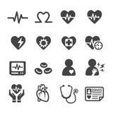 Health Icon Set Royalty Free Stock Image