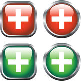 Health Icons Royalty Free Stock Images