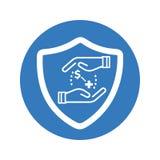 Health Insurance Icon royalty free illustration