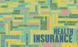 Health Insurance. Policy and Choose or Buy One Royalty Free Stock Photography