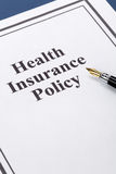 Health Insurance Stock Image